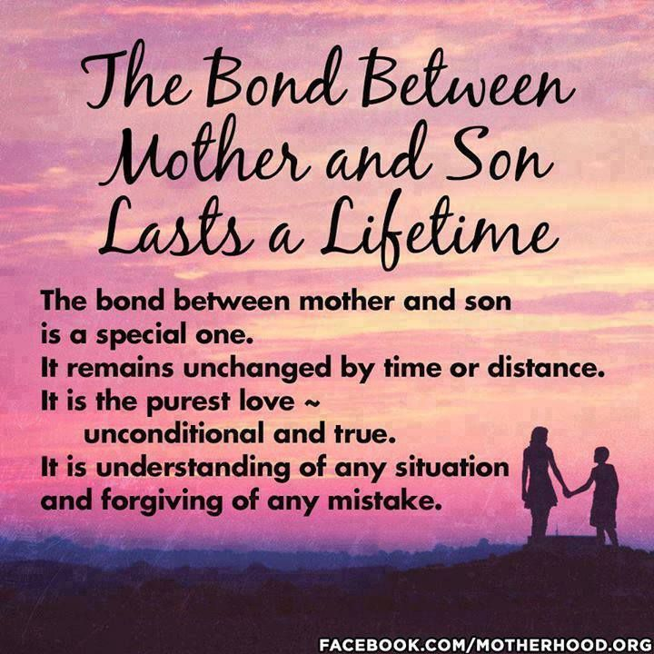 Mother Quotes : For the longest time it was just the two of ...