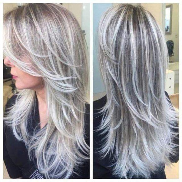 coupe cheveux gris femme 50 ans Archives \u2022 Page 44 sur 162