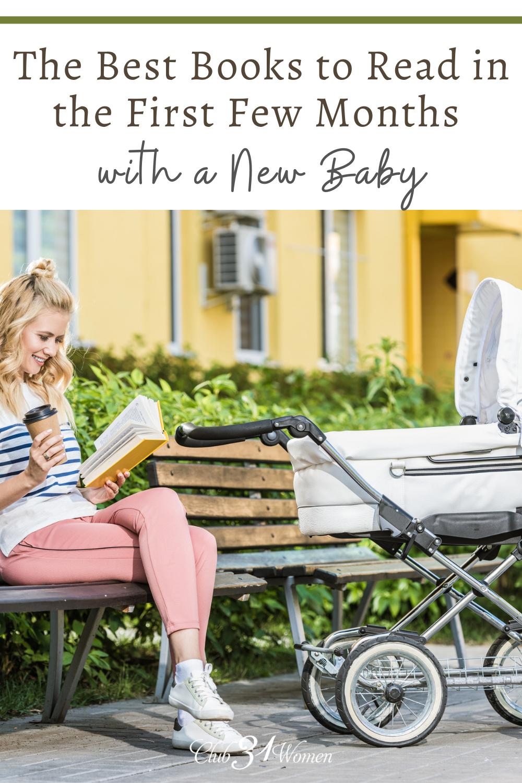 La vie avec un nouveau-né peut être accablante, mais nécessite également un ralentissement pendant que vous récupérez et prenez soin de votre nouveau-né.  Voici quelques livres pour vous aider!  via @ Club31Women