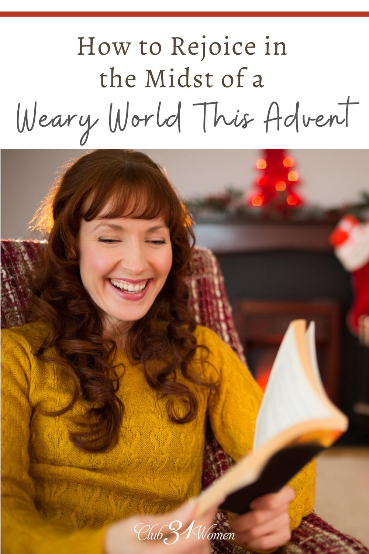 Pratiquer l'Avent est quelque chose qui peut aider à calmer notre âme pendant les vacances.  C'est une belle façon de préparer nos cœurs pour Noël.  via @ Club31Women