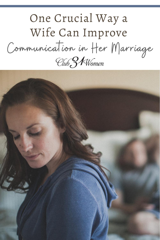 La communication peut être considérablement améliorée dans un mariage avec cette amélioration cruciale.  Êtes-vous prêt à essayer?  via @ Club31Women