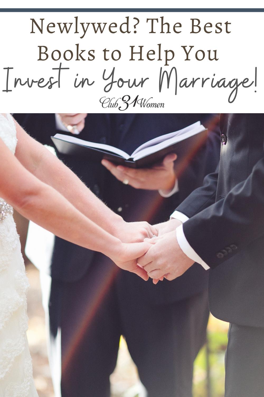 Que vous soyez un jeune marié ou un conjoint chevronné, voici une liste formidable et fondamentale de livres pour vous aider à garder votre mariage sur la bonne voie !  via @Club31Women