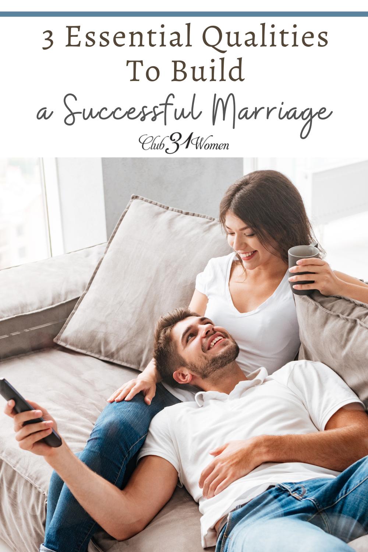 Un mariage ne peut pas survivre quand on ne pense qu'à soi.  Nous devons reconnaître qu'aimer quelqu'un est un choix, pas un sentiment.  Considérez ces qualités pour aider votre mariage à prospérer !  via @Club31Women