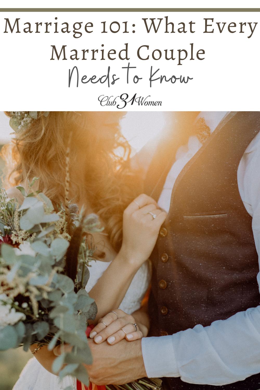 Ils n'ont peut-être pas couvert cela dans votre conseil prénuptial - mais ils auraient probablement dû le faire!  Voici ce que vous devez vraiment savoir sur l'amour et le mariage !  via @Club31Women